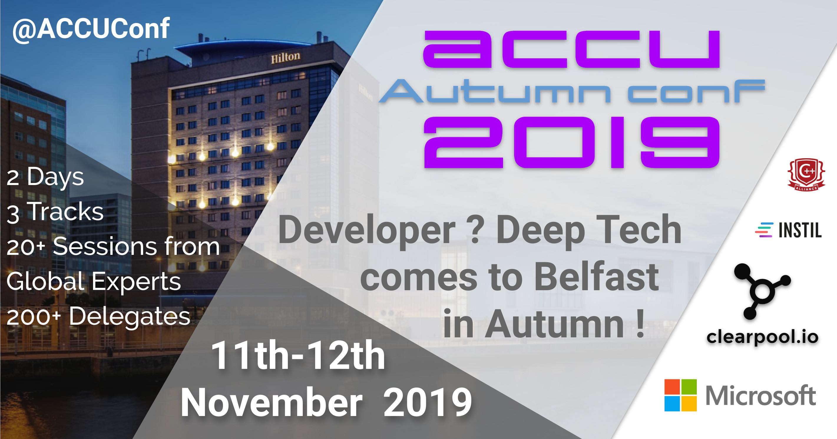 ACCU Autumn 2019