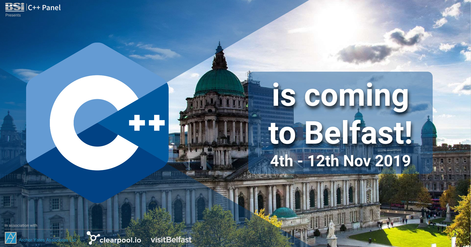 C++ is Coming to Belfast