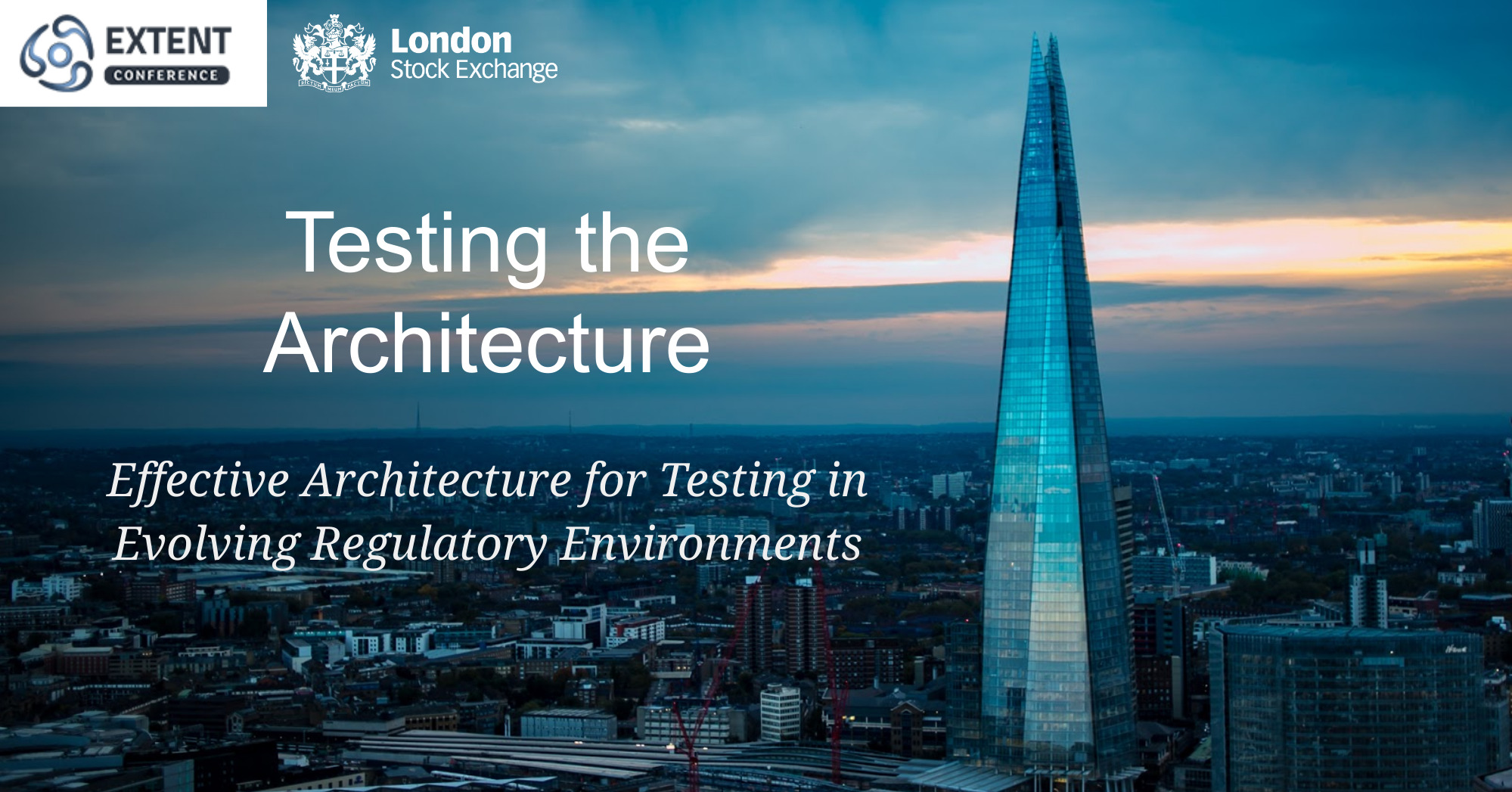 Testing the Architecture